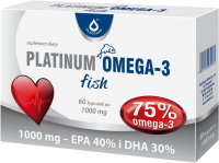 Platinum Omega 3 fish